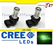 CREE LED 80W 9006 HB4 Green Two Bulbs Fog Light Replacement Show Use Off Road OE