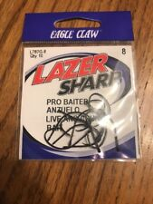 Eagle Claw L787G-8  PRO BAITER ANZUELO Live And Chunk Bait Size 8