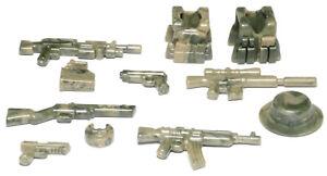 BrickArms Camo Combat Pack Charlie Waffen Set, Custom für LEGO® Figuren