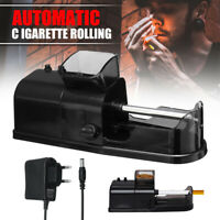 220V Electric Automatic Cigarette Rolling Machine Tobacco Roller Injector Maker
