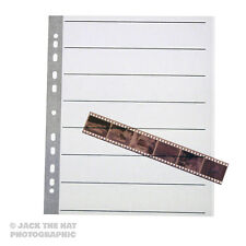 25 x Negative Filing Sheets for 35mm Film. Acid Free, Archival Storage Pages
