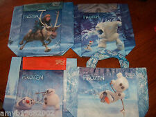 Disney Frozen Set of 4 Lunch Bags From Subway Nwot