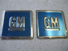 68 69 70 CHEVELLE CAMARO NEW PAIR OF GM ALUMINUM DOOR DECAL