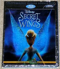 Disney Fairies Blu-ray 3D Blu-ray DVD Combo - Secret of the Wings (Used)