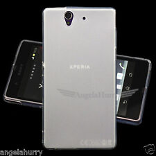 White Matte Finish Slim Soft Case for Sony Xperia Z C6603 C6602 L36h L36i