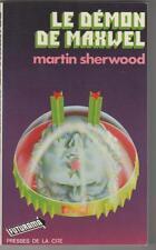 Le Démon de maxwell.Martin SHERWOOD.Futurama Science Fiction * SF27A