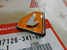 Honda CB 750 Four K2-K6 emblem orange side cover battery Genuine new