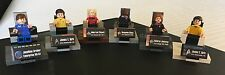 LEGO STAR TREK CAPTAINS AND CHAIRS, Custom Kirk Picard Sisko Janeway Archer