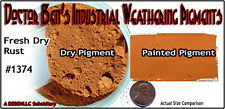 Fresh Dry Rust Weathering Pigment 2oz-Doctor Ben's Hon3 Plastic.Metal.Wood *New*