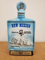 Vintage Jim Beam Decanter Discover New Mexico Collectable 1968 Empty