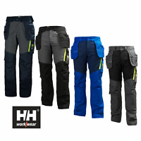 HELLY HANSEN WORK TROUSERS 77401 AKER CONSTRUCTION PANTS WITH HOLSTER POCKETS