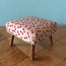 Hocker  Puppenstube Puppenhaus 1:12 dollhouse stool