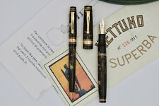 NETTUNO (STIPULA) Superba SET Fountain Pen Pencil Celluloid Limited Edition 116