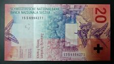Switzerland 20 Franc Banknote (UNC)