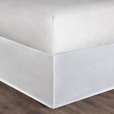 Natori Tsuba Geo King Bed Skirt White