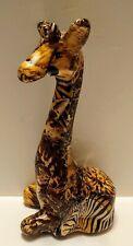 Giraffe Figurine Statue Safari Decor