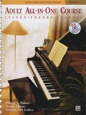 Adult All-In-One Course Level 1 Book/CD Alfred's Basic Piano Lesson Theory Tech