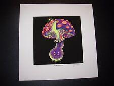 JAMES EADS Giclee Print HAPPY CAP Night Caps Mushroom poster art