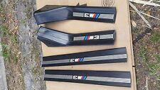 BMW E36 M3 DOOR SILLS STEPS SEDAN 325 328 318 OEM 95 96 97 98 99 Rocker Panel 4D