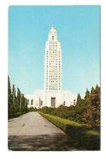 Louisiana State Capitol Baton Rouge Louisiana Vintage Postcard AF80