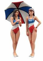 Hasegawa FC03 90's Paddock-Girls 2 Figure Set 1/24 scale kit