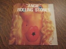 45 tours THE ROLLING STONES angie