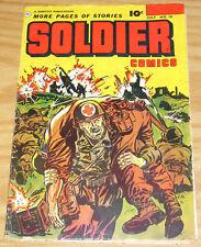Soldier Comics #10 VG july 1953 - golden age fawcett war stories