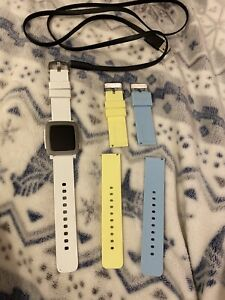 Pebble Time Smart Watch Arctic White