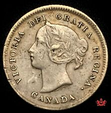 1899 Canada 5 Cents - VF - Lot#1058
