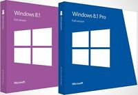 WINDOWS 8/8.1 REINSTALLATION DISC FULL INSTALL - 32 64 HOME PROFESSIONAL ENTERP
