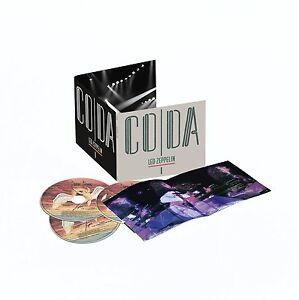 LED ZEPPELIN - CODA: REMASTERED 3CD ALBUM SET (July 31st, 2015) **free UK p+p**