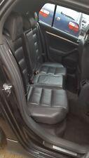 VW GOLF MK5 GTI 5 DOOR GREY LEATHER INTERIOR SEATS & DOOR CARDS