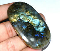 139.40 Ct Natural Fire Labradorite Madagascar AGSL Certified Cabochon Loose Gem