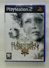 Haunting Ground PAL PS2 Playstation 2 Capcom Neuf sous blister