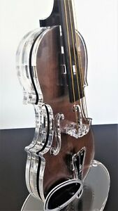 Modern Violin Sculpture  Musician Gift  Music Art Artistic Home and Office Decor