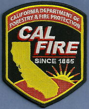 CALIFORNIA DEPARTMENT OF FORESTRY & FIRE PROTECTION CALFIRE PATCH