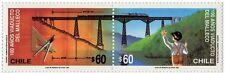 Chile 1990 #1481-82 100 años Viaducto del Malleco MNH