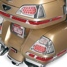 Show Chrome Clear LED Saddlebag Lights For 2006-2010 Honda GL1800