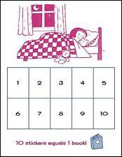A5 tabla de bonificación para dormir para niños con pegatinas sonriente cara (Dormitorio de Niños)