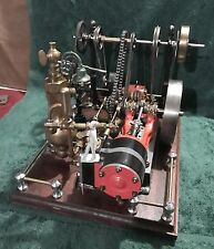 "Vintage Stuart #9 Steam Engine, ""LOOK"" tons of work in this old steam layout"
