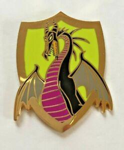 Disney Pin Badge Medieval Magic - Dragon Mystery - Sleeping Beauty Maleficent