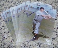 Lot of 10 George Kell Signed Autographed Baseball 8x10 Photos JSA COA!