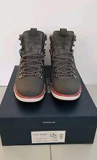 Cole Haan Zerogrand Hiker Boot Grey Pinstripe Mens Size 9.5 100% Authentic