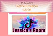 Tiktok personalised door plaque gift personalized any name of your choice
