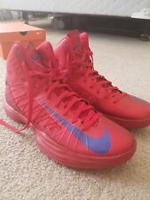 Nike Hyperdunk Men's Red and Blue Basketball Workout Shoes 524934 Size 13