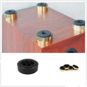 4 pcs Isolation Feet Mats Amplifier Speaker HiFi Stand Pad 60mm Audio Equipment