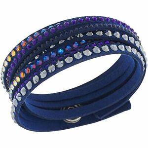 Swarovski Slake Deluxe Dark blue Size 15 inch Bracelets 5100097