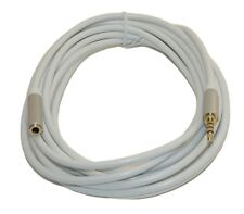 """15 Ft DC Pro Premium 3.5mm (1/8"""") Stereo 4-Pole TRRS Male to Female Cord Cable."""