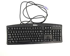DELL Vintage Mechanical Wired PS2 Black Keyboard Click