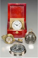 Four Desk Clocks Including A Lemania Zeppelin Clock, Circa 1935 And. Lot 65140